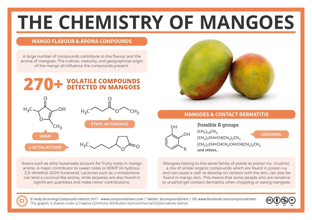 Mango chemistry chart
