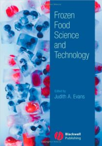 Book Cover, Frozen Food Science and Technology, Judith A. Evans