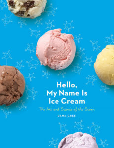 Book cover, Hello My Name is Ice Cream, Dana Cree