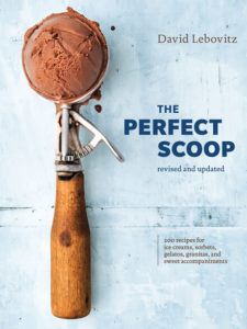 Book Cover, The Perfect Scoop, David Lebovitz